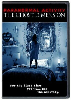 Paranormal Activity: The Ghost Dimension  DVD  NEW