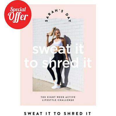 Sarah's day   sweat it to shred it  pdf  12 hours delivery