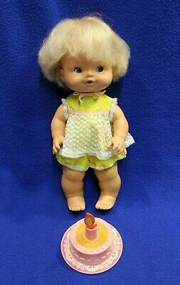 """Vintage 1975 Mattel Happy Birthday Tender Love 14"""" doll and clothes"""