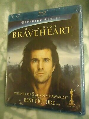 Blu Ray BRAVEHEART Movie Mel Gibson unopened