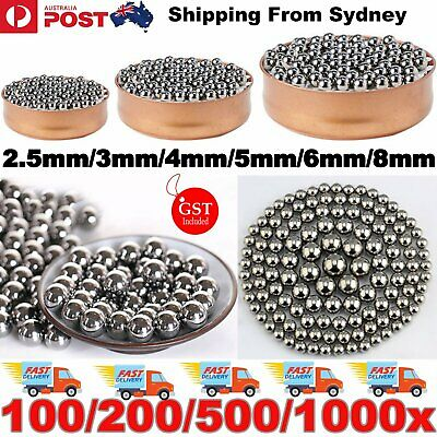 Steel Loose Bearing Ball Replacement Parts 2.5-8mm Bike Bicycle Cycling Stainles