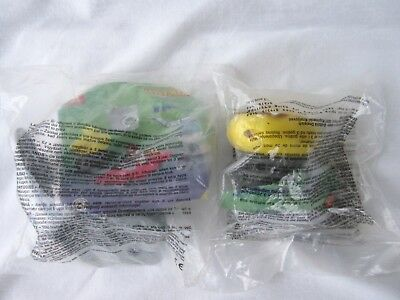 1998 McDonald's Europe Flubber Robots - Weber and Weebo - MIP