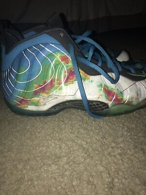 buy online 52687 8d99e NIKE AIR FOAMPOSITE One PRM Weatherman 575420 100 Size 9 Jordan ...