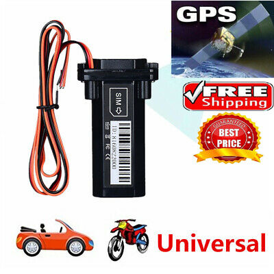 GSM GPS Tracker Locator Global Real Time Tracking Device Car Vehicle Motorcycle