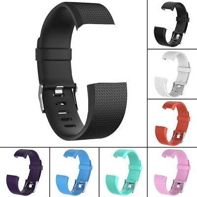 Genuine Sport Silicone Straps Replacement Wrist Bands For Fitbit Charge 2 /HR UK