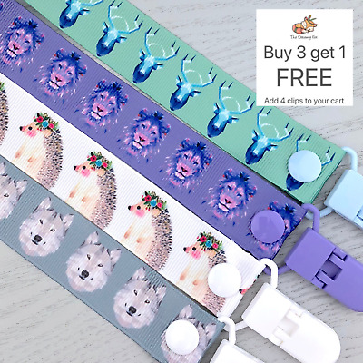 Dummy Clip pacifier chain dummie binky baby clips gift soother holder
