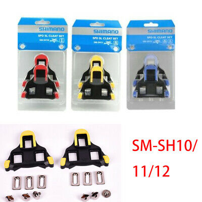 6f34460c1 GENUINE SHIMANO SPD-SL SM-SH10 Road Cleat Replacement Cleats fixed 0 ...