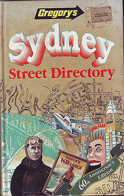GREGORY'S SYDNEY STREET DIRECTARY - 60TH.ANNIVERSARY EDITION Circa1995