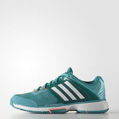 Adidas Womens Barricade Club Tennis Shoes UK 4 US 5.5 EUR 36.2 3 REF 1364 d4b8e19e5