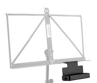 Sheet Music Stand Accessory Tray Shelf for Tuner Metronome Pen Pencil Storage