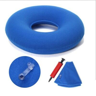 Inflatable Rubber Ring Round Seat Cushion Medical Hemorrhoid Pillows Donut A33X