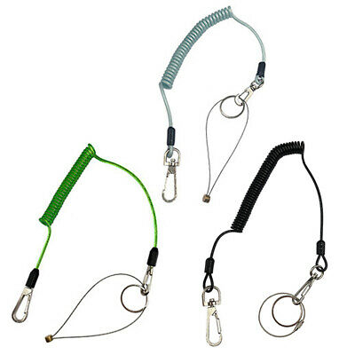 Carabiner Lanyard Retractable Safety Rope Elastic Climbing Tool Up to 1.6m