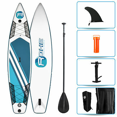 Stand Up Paddle gonflable ROHE RACE (365 x 81 x 15 cm) – Pack avec accessoires