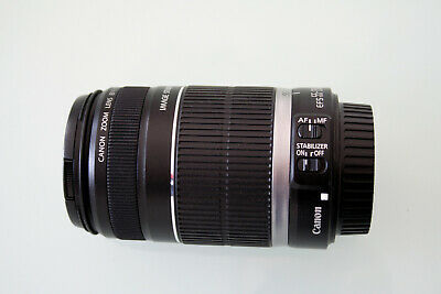 Original Canon EF-S 55-250mm 1:4-5,6 IS IMAGE STABILIZER / Neuwertig