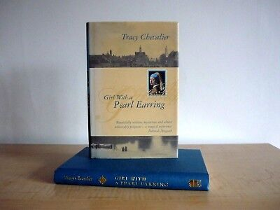 Tracy Chevalier Girl With A Pearl Earring **rare Misspelling** Uk Hb 1/1 Dj