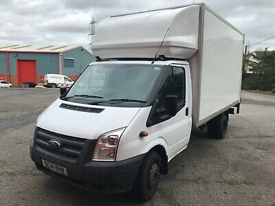 Ford Transit Luton 2014 Reg, 2.2TDCi RWD With Tail Lift NO VAT