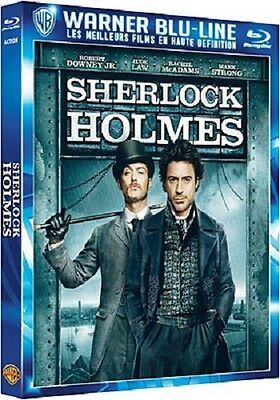 Blu-ray  :  SHERLOCK HOLMES  ( Robert Downey Jr, Jude Law )  NEUF cellophané