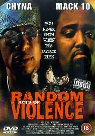 Random Acts Of Violence (DVD, 2002) new and sealed freepost