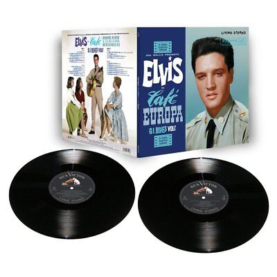 ELVIS PRESLEY: Cafe Europa 2 LP Vinyl Limited Edition from FTD (New & Sealed)