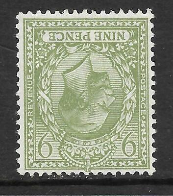 Sg 393awi 9d Olive Watermark Inverted Royal Cypher UNMOUNTED MINT/MNH