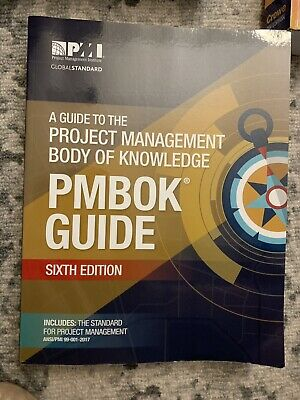 Pmbok 6th edition Paperback