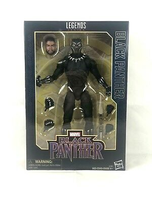 New Sealed in Box Marvel Legends Series Black Panther 12 Inch Action Figure NIB