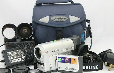Samsung VP-D55 MiniDV Digital Camcorder 22 x optical Zoom and accessories