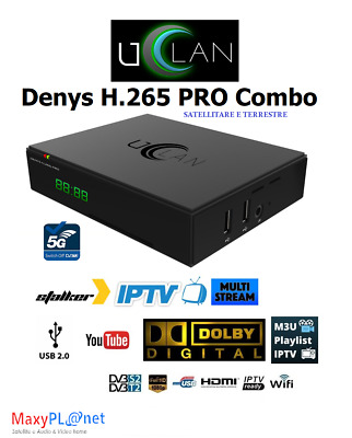 UCLAN Denys Combo Pro HEVC 265 S2+T2/C
