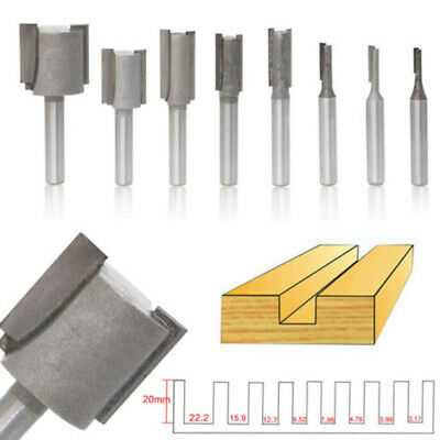 """1/4"""" Shank Cutter Router Bit Routing Tool Milling cutter Kit Practical Durable"""