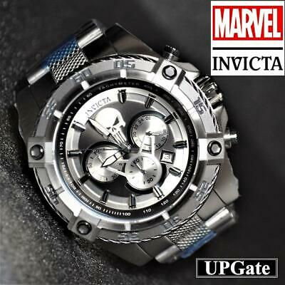 INVICTA Watch MARVEL Collaboration Punisher Model 26863 color Silver B60