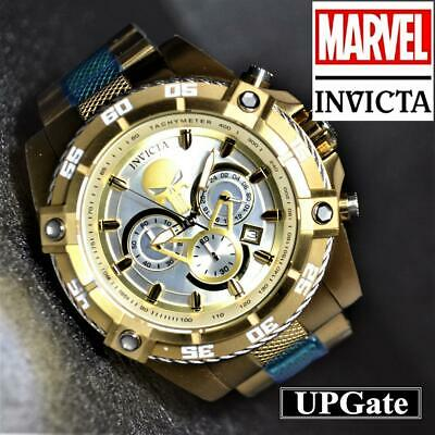 INVICTA Watch MARVEL Collaboration Punisher Model 26864 color Gold B60