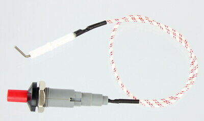 Piezo Ignitor Push Button Starter 18mm Ignition Spark lighter,500mm cable