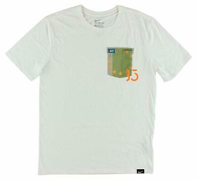 new concept ab8ac 938a4 Nike Kevin Durant KD Men s T-Shirt White Small NWT
