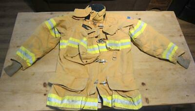 Lion Janesville Firefighter Fireman Turnout Gear Jacket Size 44.35.R - [B] (A1)
