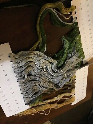 Large Bunch  36 Skeins Anchor Embroidery Threads All New