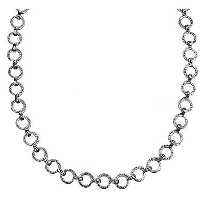 Gerochristo 4050N ~ Sterling Silver Medieval-Byzantine Chain Necklace