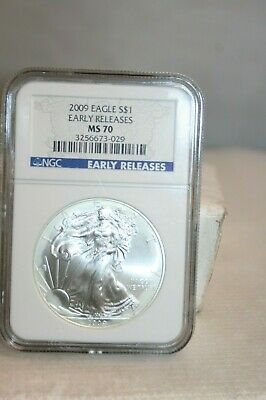 2009 $1 American Silver Eagle MS70 NGC - Early Releases
