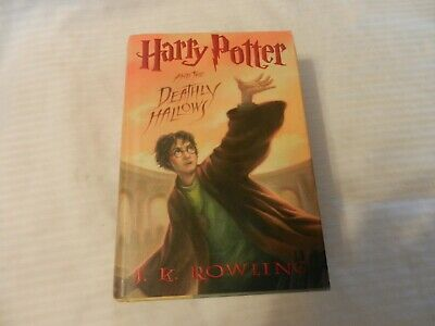 Harry Potter: Harry Potter and the Deathly Hallows 7 by J. K. Rowling (2007, Har