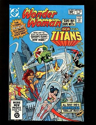 Wonder Woman #287 VF+ Andru Heck Staton New Teen Titans Cyborg Huntress Karnage