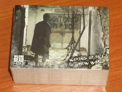 The Walking Dead Trading Cards: The Road To Alexandra Complete Base Set: Rick Gr