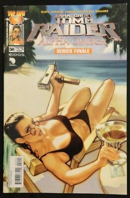 Tomb Raider Vol. 1 #50 Alpha Omega Final Issue 1st Printing Adam Hughes Cover