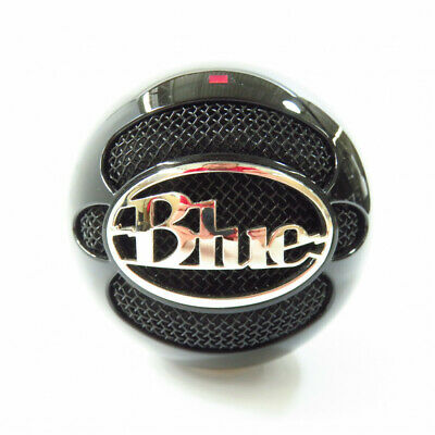 Blue Microphones - The Snowball USB Microphone - Black