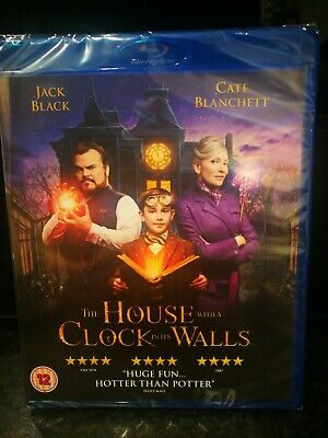 The House with a Clock in its Walls Blu-ray *BRAND NEW* Jack Black Eli Roth 2018