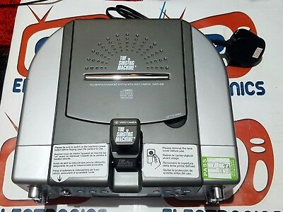 CD karaoke machine with video camera smvg-608