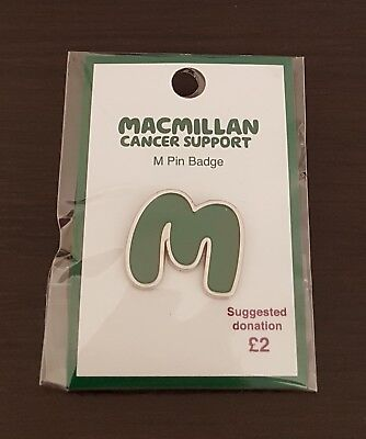 "Brand New & Sealed ""MACMILLAN CANCER SUPPORT"" Pin Badge (SAME DAY DISPATCH !!)"