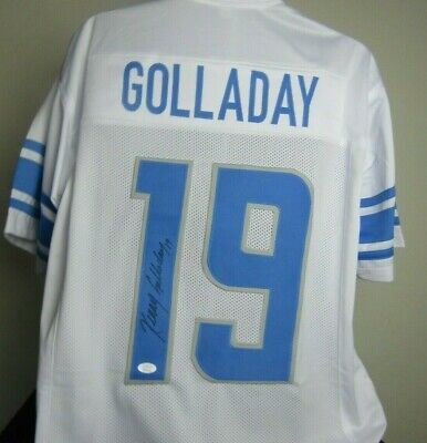 get cheap 2168d 5343c KENNY GOLLADAY AUTOGRAPHED signed Detroit Lions Jersey JSA COA