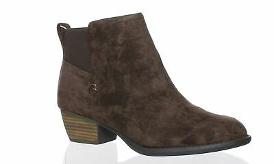 ef2aa8d9323e New Dr. Scholl s Womens Jorie Brown Ankle Boots Size 6