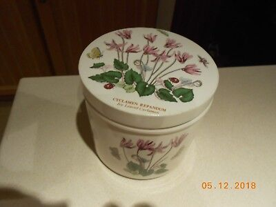 Portmeirion Botanic Garden Ceramic Lidded Storage Jar