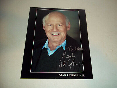 Alan Oppenheimer Heman Masters Of The Universe Autograph Signed Photograph