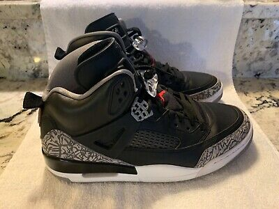 lowest price 8a9d6 20623 Nike Air Jordan Spizike 315371-034 Black Varsity Red Cement Grey NEW Size 11